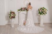 Свадебное платье модель 307 (спинка)