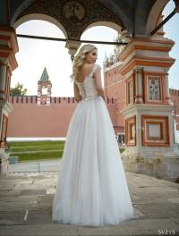 Свадебное платье модель 215 (спинка)