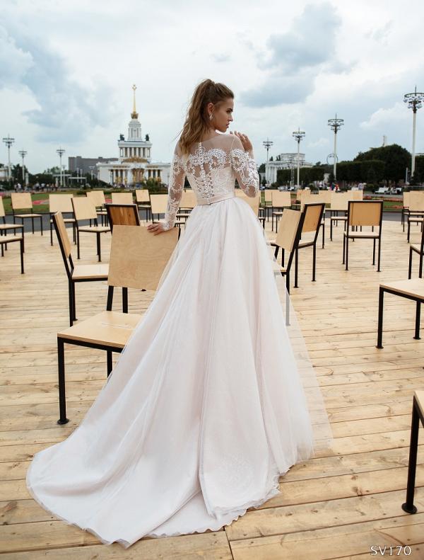 Свадебное платье модель 170 (спинка)