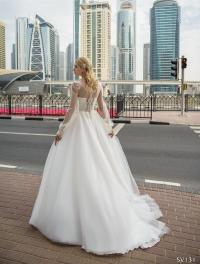 Свадебное платье модель 131 (спинка)