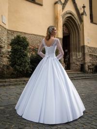 Свадебное платье модель J-708 (спинка)