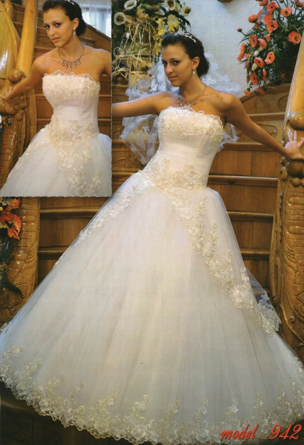 Свадебное платье невесты модель 942
