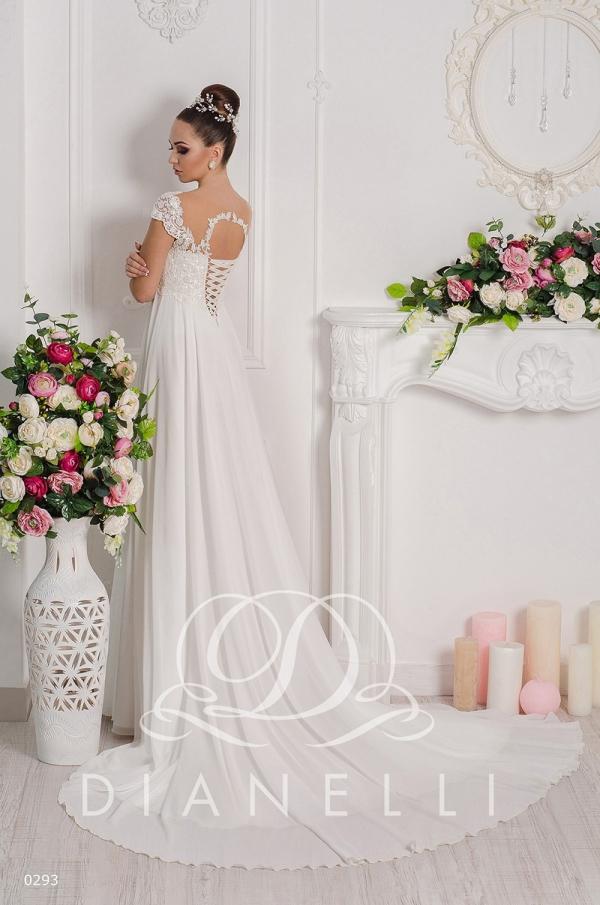 Свадебное платье модель 293 (спинка)