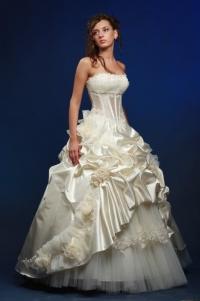Свадебное платье невесты модель Диана (перед)