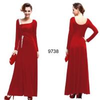 Вечернее платье 9738