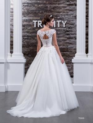 Свадебное платье модель 505 (спинка)
