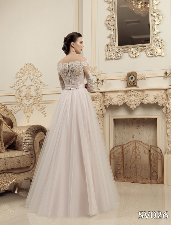 Свадебное платье модель 026 (спинка)