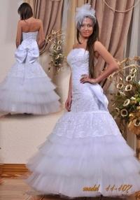 Свадебное платье невесты модель 11-107