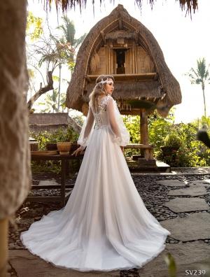 Свадебное платье модель 239 (спинка)