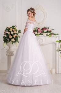 Свадебное платье модель 318 (спинка)